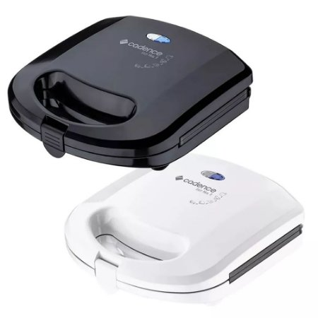 Grill Sanduicheira Cadence Easy Meal Antiaderente Black