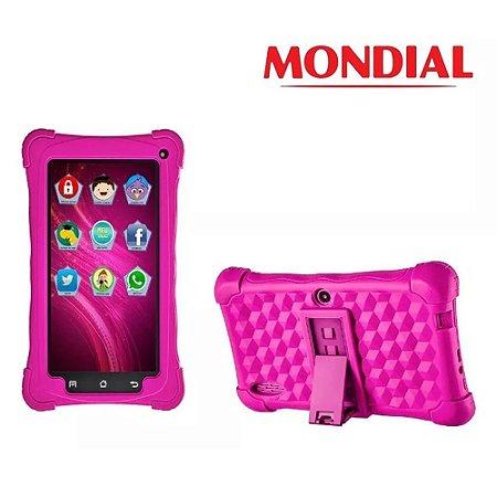 Tablet Infantil Kids Mondial Tela De 7 Wifi Câmera E 8 Gb