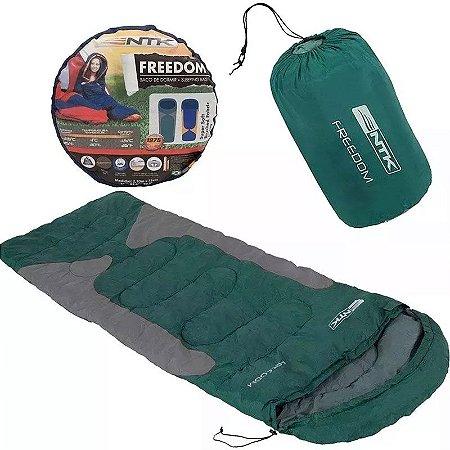 Saco De Dormir Térmico Camping Freedom Premium Nautika Bolsa