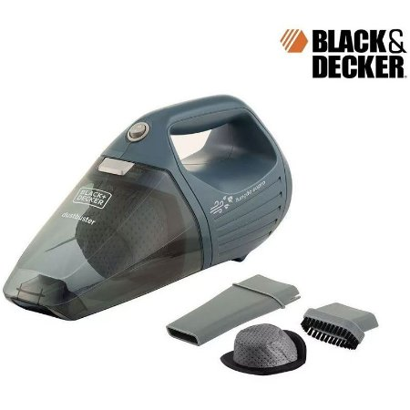 Aspirador De Pó Black+decker Aps1200 Elétrico E Portátil
