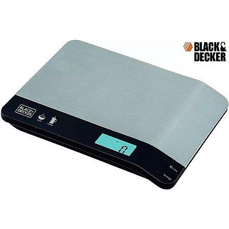 Balança De Cozinha Design Gourmet Black Decker Digital +pilha
