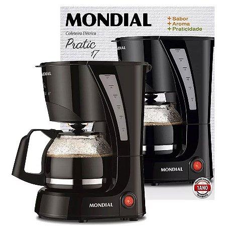 Cafeteira Elétrica Mondial Pratic Nc-25 17 Xícaras