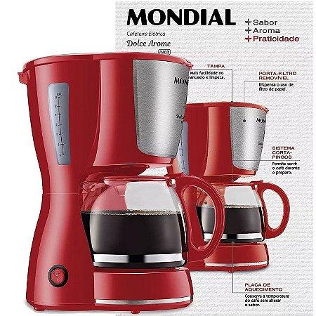 Cafeteira Elétrica Mondial Dolce Arome 18 Xícaras
