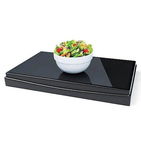 Mesa Térmica Fria De Vidro Temperado 400w Lee Cook Premium
