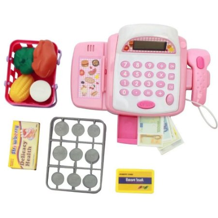 Caixa Registradora Infantil Com Som E Luz Importway