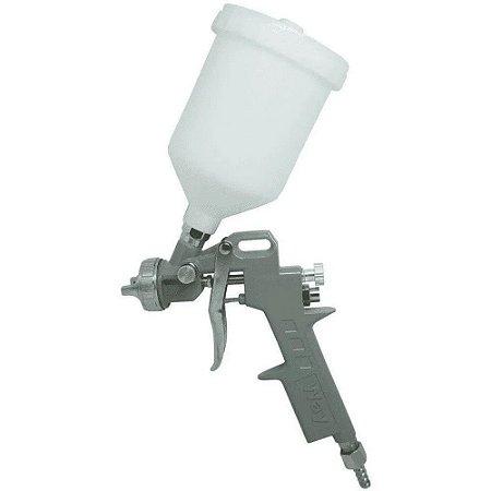 Pistola Pintura Gravidade Convencional Profissional 3 Bicos
