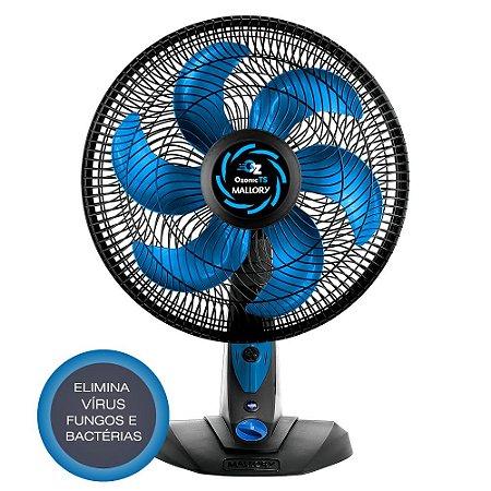 Ventilador Turbo Silencioso 40cm Mallory Ozonic Elimina Vírus, Fungos, Bactérias e Repele Mosquitos