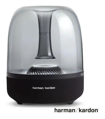 Caixa De Som Bluetooth Jbl Harman Kardon 60w Sem Fio Portatil Iluminação Ambiente Aura Studio