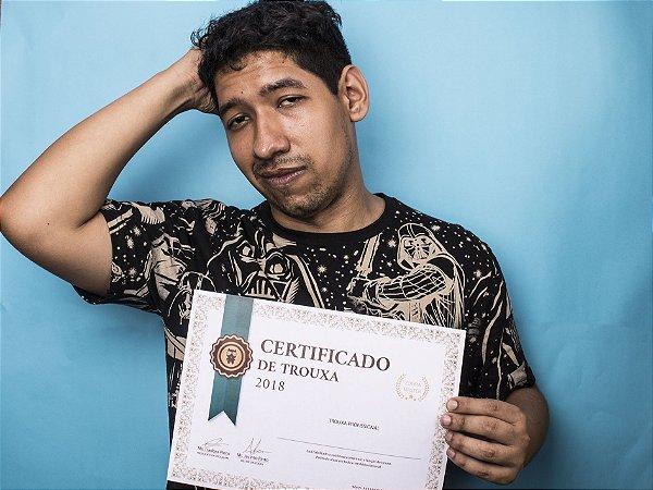 Certificado de Trouxa