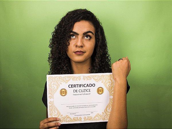 Certificado de Cuzice