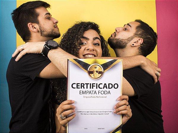 Certificado de Empata Foda