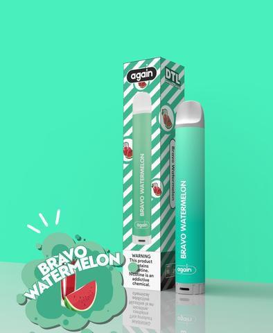 Descartavel - Again - Bravo Watermelon - 2mg 400puffus