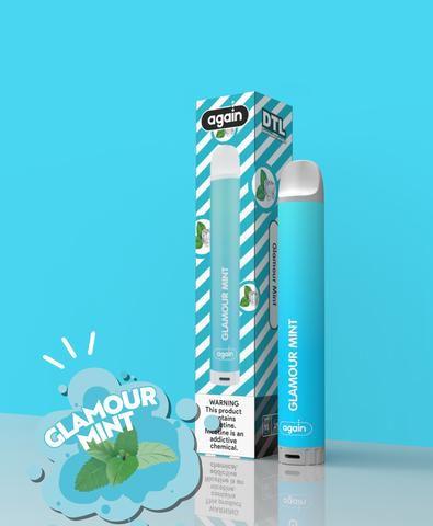 Descartavel - Again - Glamour Mint - 2mg - 400 puffs