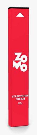 Descartavel  - Zomo - Strawberry Cream - 320 puffs - 50mg