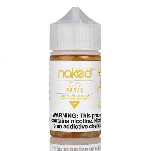 Juice- Naked - Go Nanas - 60ml
