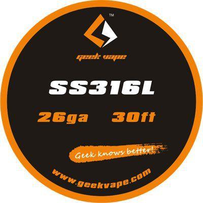 GeekVape Fio SS316L 10 Metros