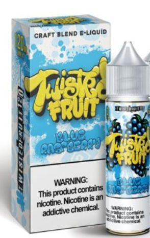 Twisted Fruit Blue Raspberry