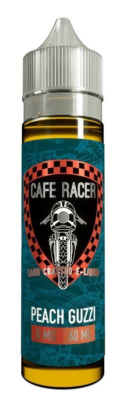 Cafe Racer Peach Guzzi