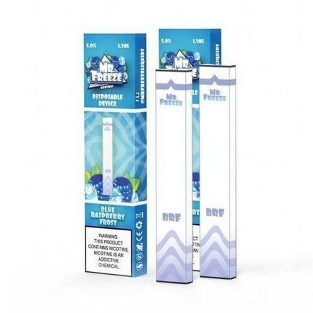 Mr. Freeze Pod Descartavel Blue Raspberry Frost