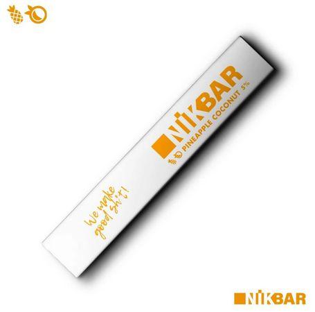 Descartavel - STIG - NikBar - Pineapple Coconut - 5% mg - 300 puffs