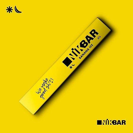 Descartavel - STIG - NikBar - Banana Ice - 5% mg
