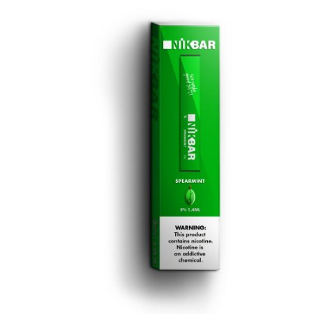 Descartavel - STIG - NikBar - Spearmint - 5% mg