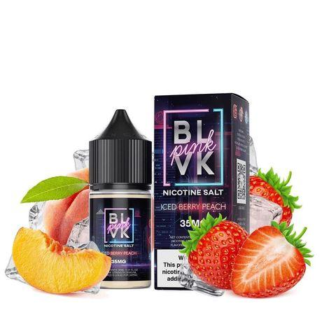 Salt - BLVK - Pink Iced Berry Peach - 30ml