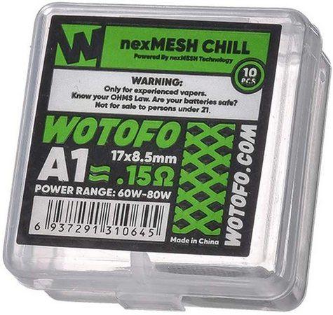 Coil - Wotofo - NEXMesh Chill A1
