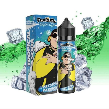 Juice - Fantastic - Tropical Soda - 60ml