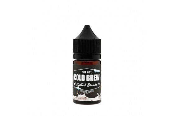 Salt - Nitro's Cold Brew - White Chocolate Mocha - 30ml