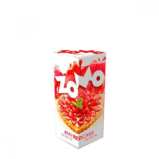 Juice - Zomo - My Red Cake - 30ml