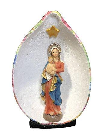 Nossa Senhora da Saúde no Oratório em Cabaça