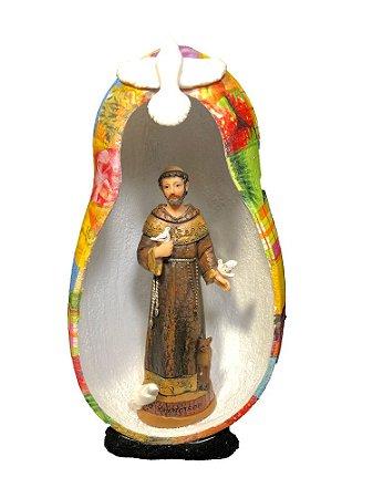 São Francisco de Assis no Oratório em Cabaça