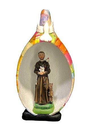 São Francisco no Oratório em Cabaça