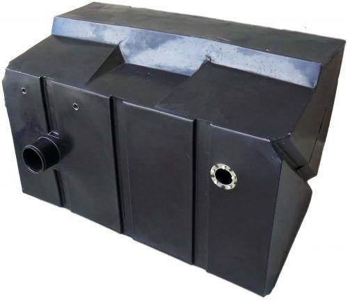 Tanque de Combustível Pá Carregadeira Case W20 180L Igasa