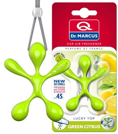 Aromatizante Dr. Marcus Lucky Top Green Citrus
