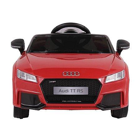Carro Elétrico Audi TT RS Vermelho