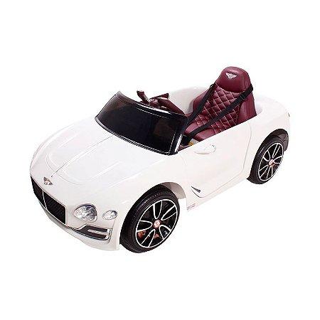 Carro Elétrico Bentley EXP12 - 12V Branco