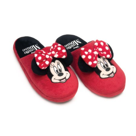 Chinelo Minnie Com Laço 36-37