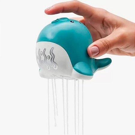 Diversão No Banho Regador De Banho Foca Azul Buba
