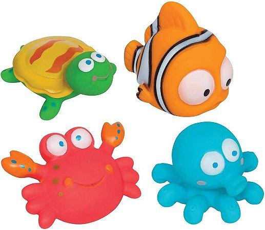 Bichinhos Para Banho Animais Oceano Buba