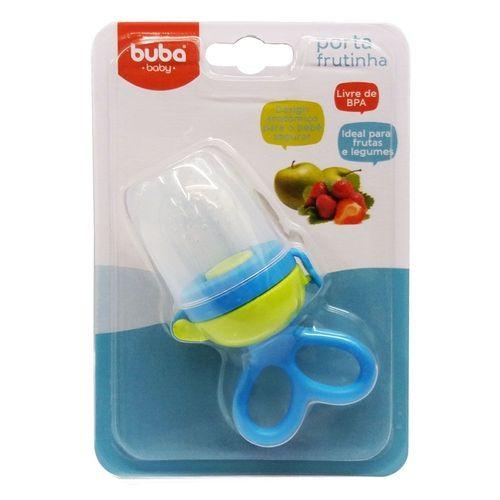 Porta Frutinha Para Bebês Azul Chupeta de Alimentação