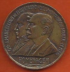 Medalha 1º Centenário Cidade Porto Alegre Bronze 28mm