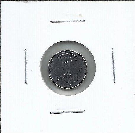 Moeda 1 Centavo Cruzado 1988 - FC - Flor de Cunho - data difícil
