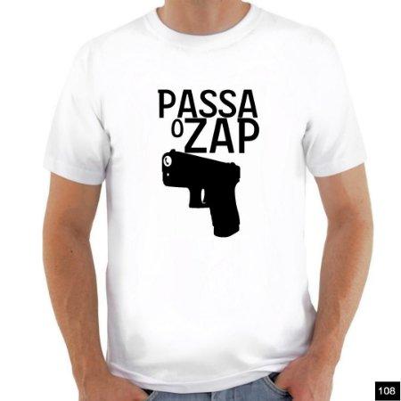 Camiseta Frases Satiras - Branca