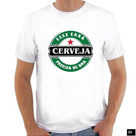 Camiseta com Sátiras - Branca