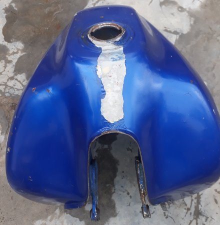 Tanque de combustível tenere 600 1 farol para restauração