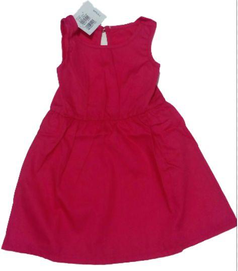 Vestido Curto Rosa Xok