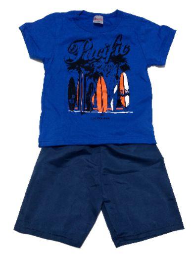 Conjunto Masculino Azul Hlerinha