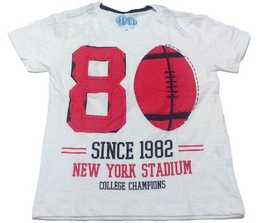 Camiseta Creme Juvenil